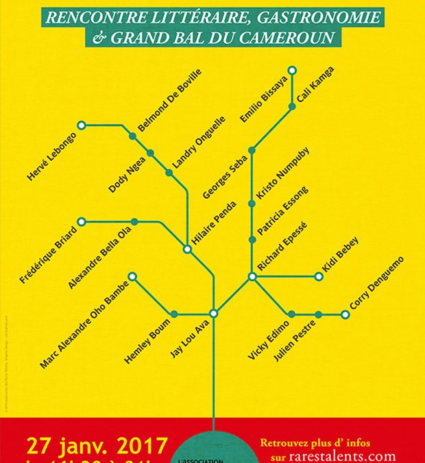 Affiche Barbès-Cameroun