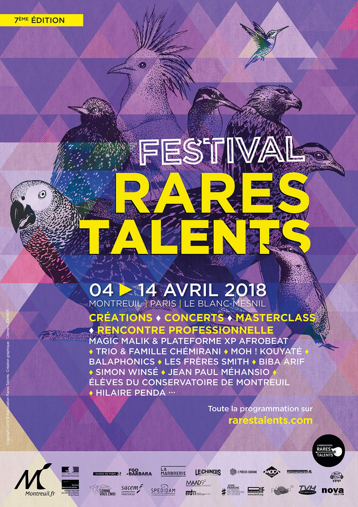 Festival Rares Talents 2017 © crédit photo : Florent Zarka