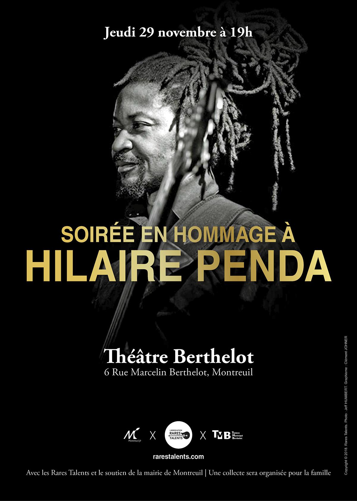 Affiche Hommage à Hilaire
