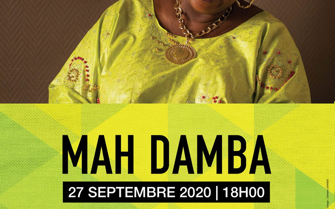 affiche concert mah damba