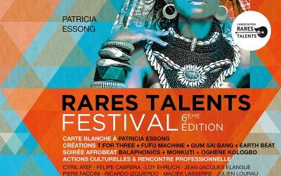 Le Festival Rares Talents 2017