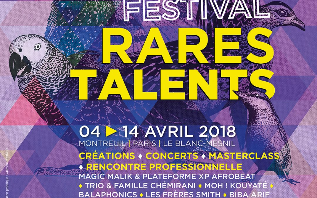 Le Festival Rares Talents 2018