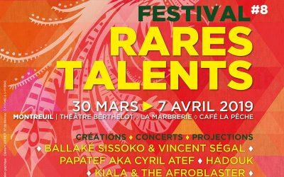 Festival Rares Talents 2019